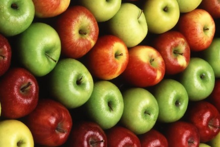 Azerbaijan exported 33,000 tons of apples to Russia