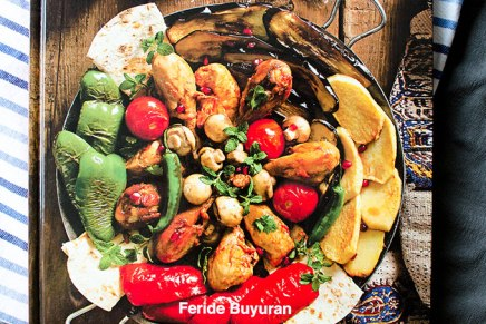 """Pomegranates and Saffron: A Culinary Journey to Azerbaijan"" by Feride Buyuran"