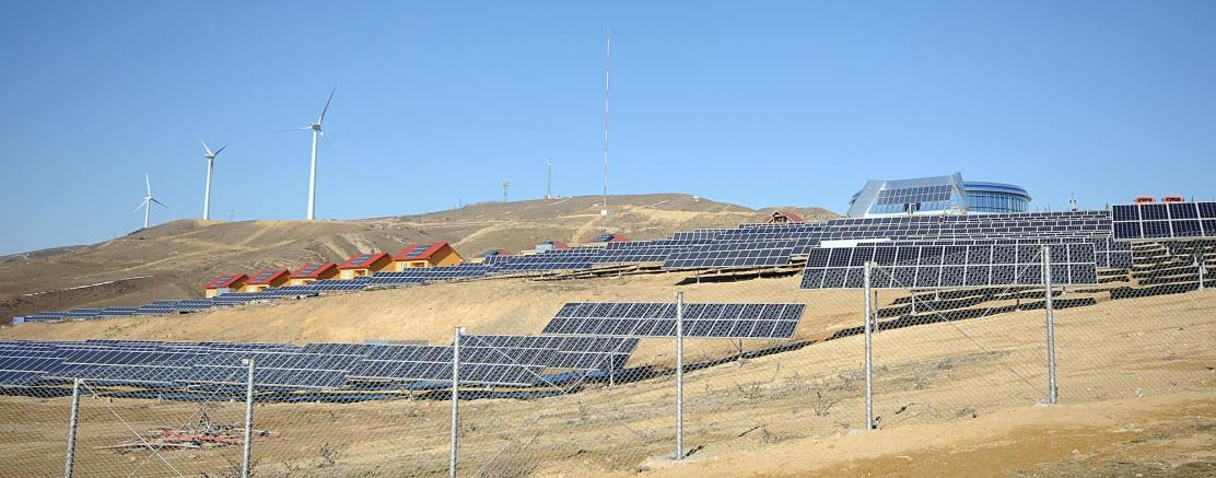 Solar energy in Gobustan, Azerbaijan (Photo: UNDP in Azerbaijan)